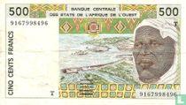 West Afr. Stat. 500 Francs T810