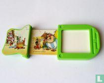 Asterix en Obelix schuifplaatje