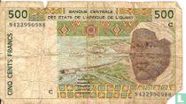 West Afr. Stat. 500 Francs C