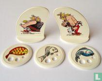 Asterix - Ruzie om de vis