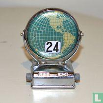Bureaukalender - Globe