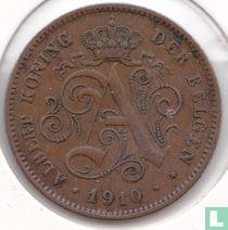 België 2 centimes 1910 (NLD)
