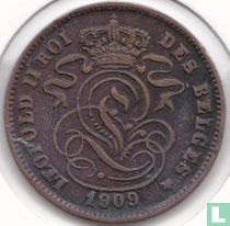 België 2 centimes 1909 (FRA)