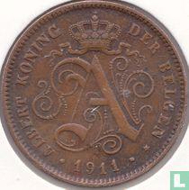 België 2 centimes 1911 (NLD - datum 0.9mm)