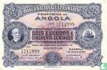 Angola 2,50 Escudos 1921
