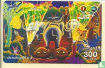 Elephant Lapin Palmier