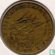 Centraal-Afrikaanse Staten 10 francs 1974