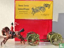 Royal Engineers General service limbered up wagon (Gallop)