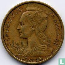 Français des Afars et des Issaland 10 francs 1970