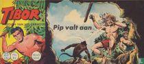 Pip valt aan
