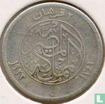 Egypte 2 piastres 1923 (AH 1342)