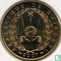 Djibouti 20 francs 2007