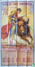 Cartel de Corrida . Stierenvechten