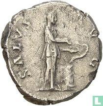 Hadrianus 117-138, AR Denarius Rome