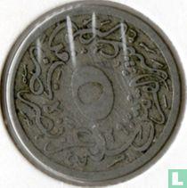 Ägypten 5/10 Qirsh 1887 (Jahr 1293/13)