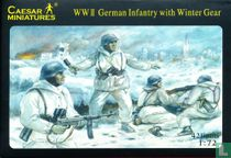 WWII Duitse Infanterie in Winterkledij