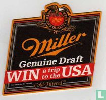 Miller genuine Draft Win a trip to the USA