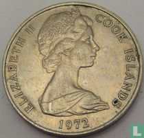 Cookeilanden 20 cents 1972