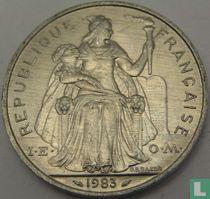 Frans-Polynesië 5 francs 1983