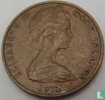 Cookeilanden 2 cents 1972