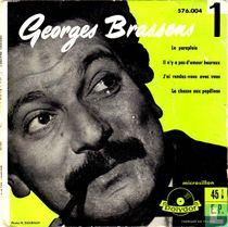 George Brassens et sa guitare 1