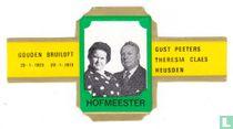 Gouden Bruiloft 20-1-1923 20-1-1973 - Gust Peeters Theresia Claes Heusden