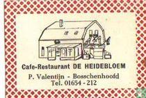 Café Restaurant De Heidebloem - P.Valentijn