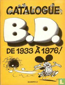 Catalogue B.D. de 1933 à 1976!