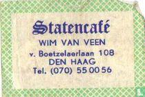Statencafé - Wim van Veen
