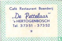 Café Restaurant De Pettelaar
