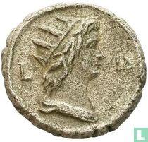 Egypte AR tetradrachme (Alexandrië. Hadrianus) 117-138