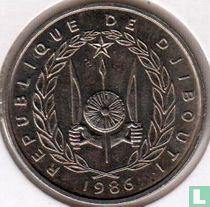 Djibouti 50 francs 1986