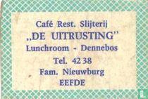 Café restaurant Slijterij De Uitrusting