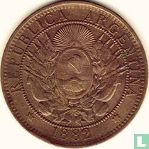 Argentina 2 centavos 1882