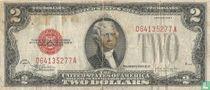 Verenigde Staten 2 dollar 1928 (United States Note, red seal)