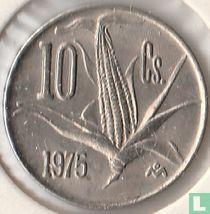 Mexico 10 centavos 1975 (scherpe steel)