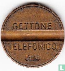 Gettone Telefonico 6112 (geen muntteken)