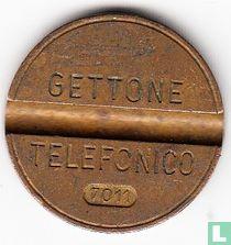 Gettone Telefonico 7011 (geen muntteken)