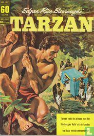 Tarzan redt de prinses van het 'verborgen volk' uit de handen van haar wrede ontvoerders!