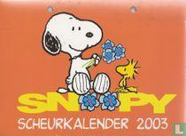 Snoopy scheurkalender 2003