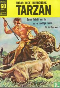 Tarzan bedenkt een list om de machtige reuzen te verslaan...