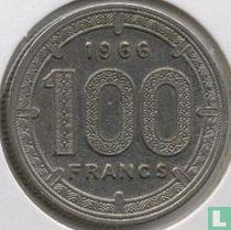 Kameroen 100 francs 1966