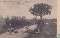 Italia Roma Acquedotto di Claudio around 1900 - Streetview many horse cars
