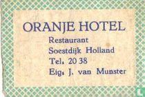 Oranjehotel - J. van Munster