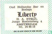 Oud Hollandse Bar en Bodega Liberty - H.A.Steijl