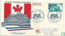 Paviljoen van Frankrijk in Montreal