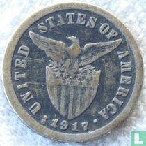 Filipijnen 10 centavos 1917