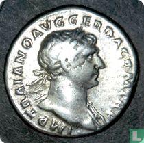 Romeinse rijk, AR Denarius, 98-117 AD, Trajanus, Rome, 107 AD var.