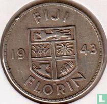 Fiji 1 florin 1943