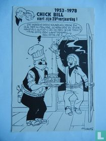 1953-1978 Chick Bill viert zijn 25 ste verjaardag!